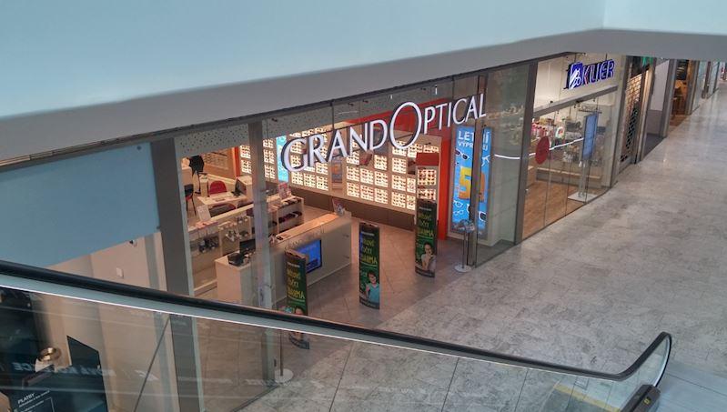 Prodejna GrandOptical Aupark Hradec Králové