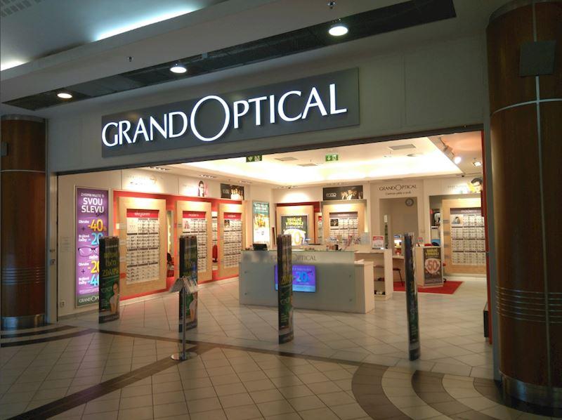 Prodejna GrandOptical  Galerie Fénix