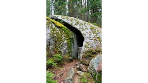 Medvědí hora , výhledy na Lipno - 8 km