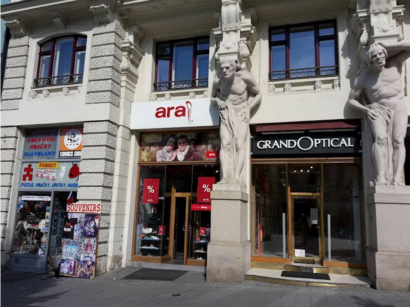 Prodejna GrandOptical Brno, Náměstí svobody