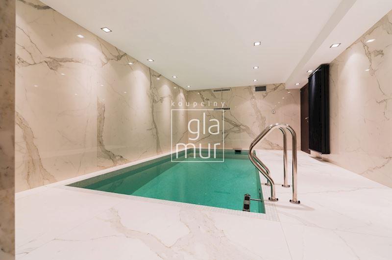 Bazén v domácím wellness
