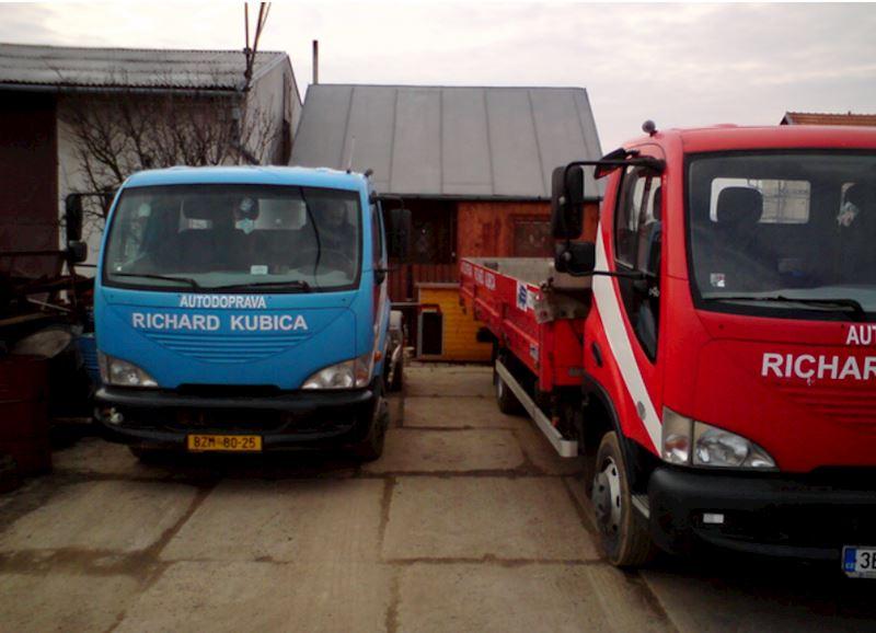 Richard Kubica, s.r.o. - autodoprava a přeprava - fotografie 1/38
