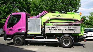 Čištění kanalizace a odpadů Beroun