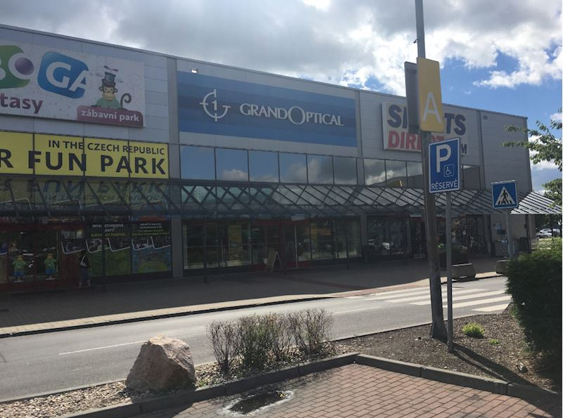 Prodejna GrandOptical v Avion Shopping Park Zličín