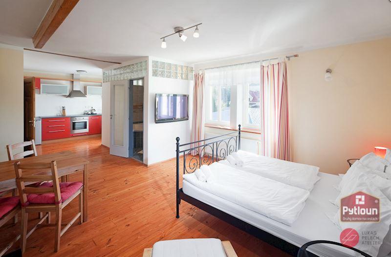Dvoulůžkový luxusní apartmán