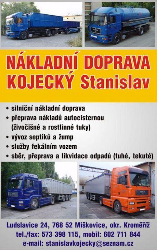 Odpady Kojecký – odvoz fekálií a čištění odpadních vod  ADR - fotografie 5/5