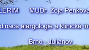 Penková Zoja MUDr. - ALERGOLOGIE A IMUNOLOGIE