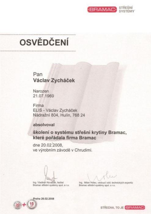 ELIS - STŘECHY s.r.o. - fotografie 14/14