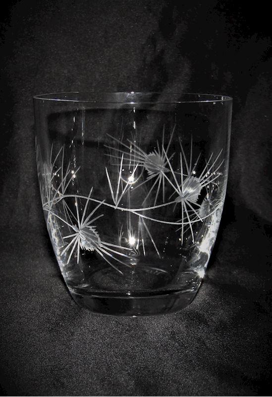 skleničky motiv Bodlák