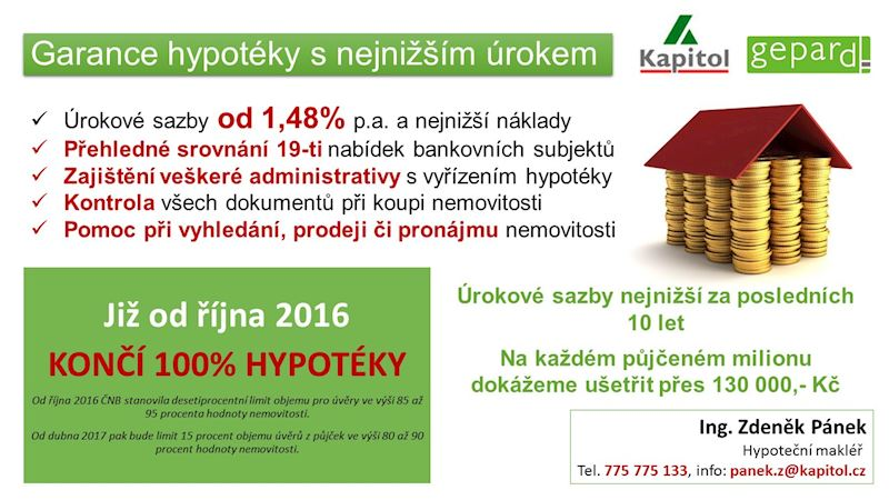 Hypotéční centrum Kapitol Jindřichův Hradec - Arnošt Vratislav - fotografie 4/10