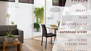 Japonské stěny - posuvné panelové stěny