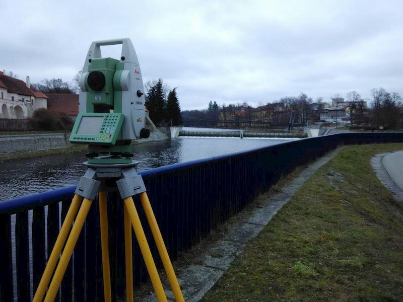 Zaměřování podkladů pro technicko-provozní evidenci vodních toků