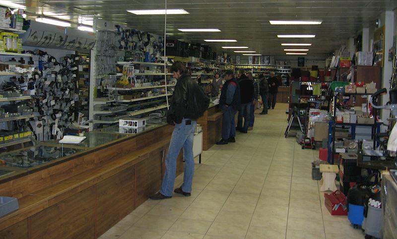 Prodejna nářadí a nístrojů