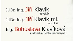 Klavík Jiří JUDr., Ing. – advokát