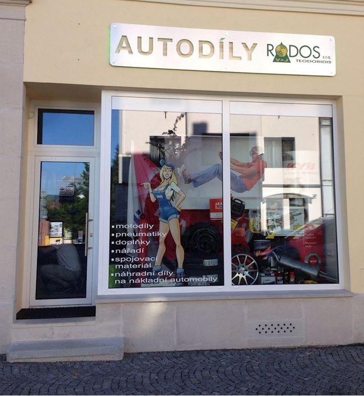 RODOS V + J Teodoridis s.r.o. prodejna autodílů - fotografie 1/4