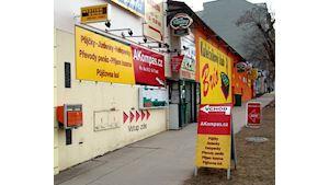 AKompas Brno: levné náplně do tiskáren, PPL ParcelShop - PPL Parcel Shop, DPD Pickup, WeDo Uloženka