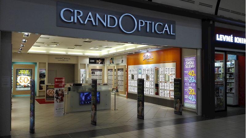 Prodejna GrandOptical OC Nisa