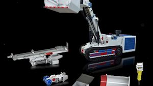 Univerzální stroje na pásovém podvozku
