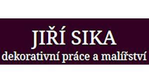 Dekorativní malíř Jiří Sika