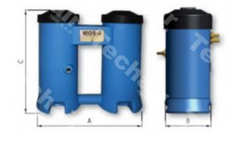 Separátor kondenzátu voda/olej WOS 35