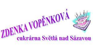 Cukrárna - Zdenka Vopěnková