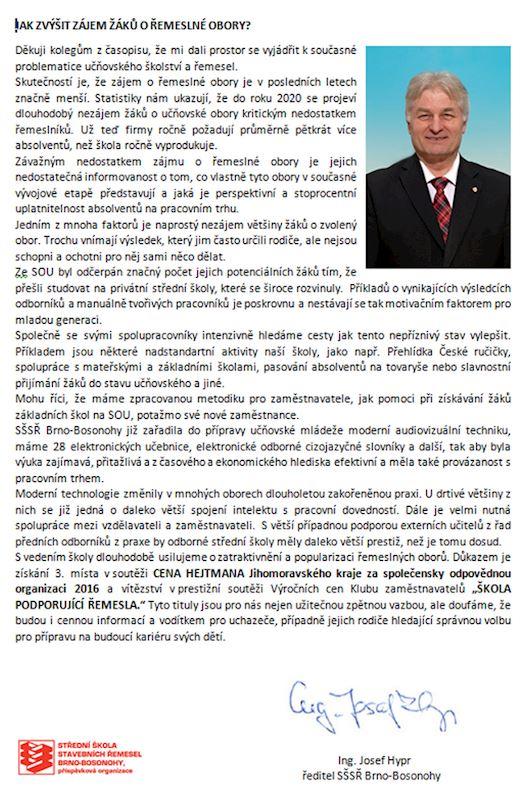 Střední škola stavebních řemesel Brno-Bosonohy, příspěvková organizace - fotografie 4/5