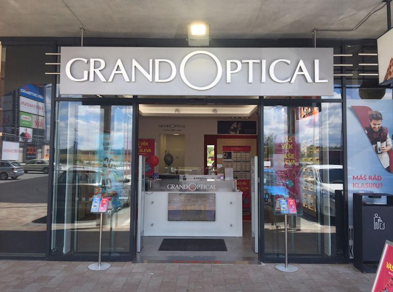 Prodejna GrandOptical Nákupní park Strakonice