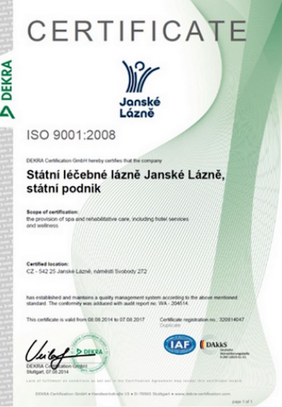 Státní léčebné lázně Janské Lázně, s.p. - fotografie 24/24