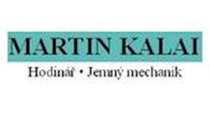 Martin Kalai - opravář hodin a hodinek