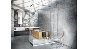 sprchová vanička: slim / design: makrodesign