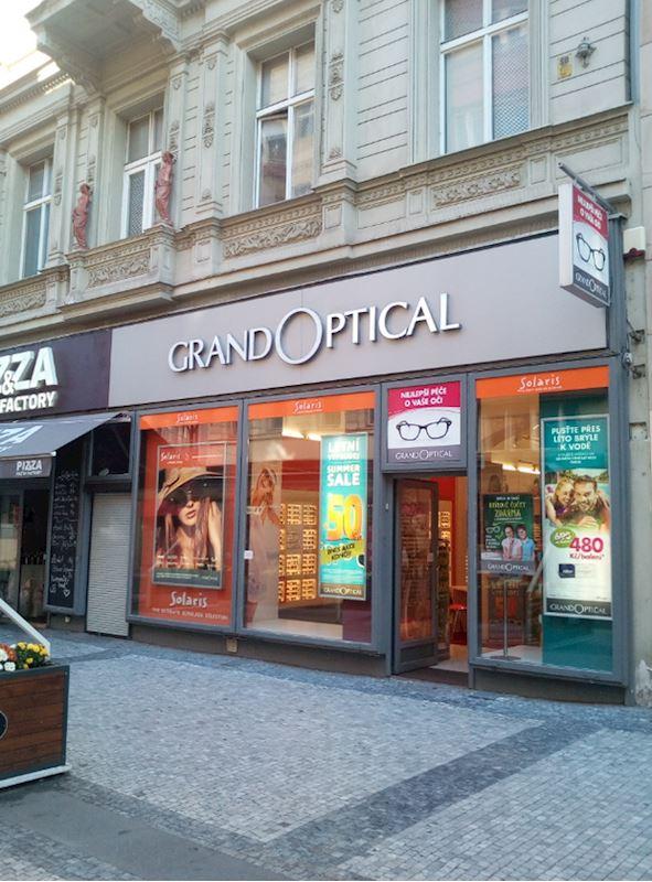 Prodejna GrandOptical 28. října Praha