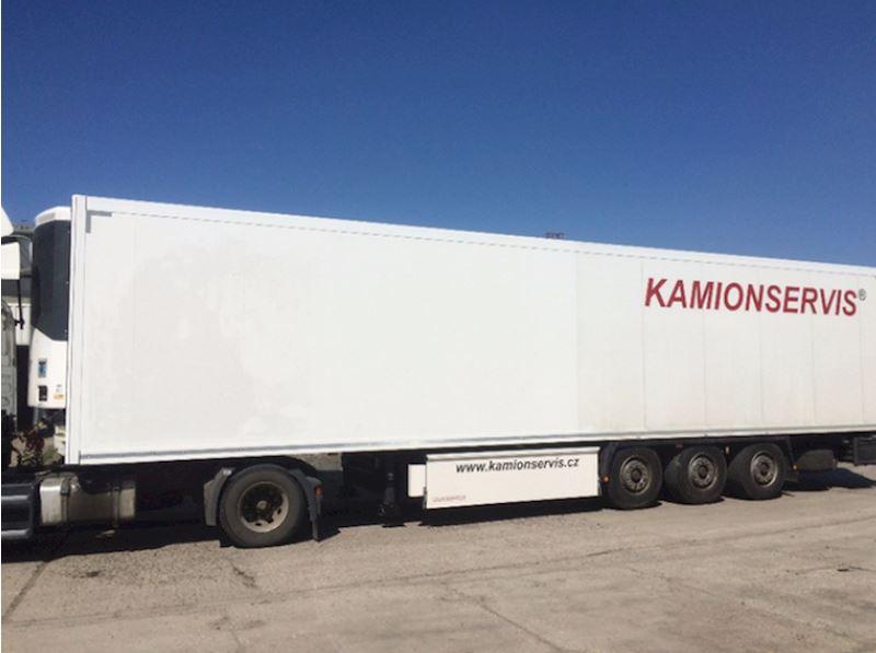 KAMIONSERVIS Praha, a.s. - mezinárodní kamionová přeprava - fotografie 23/23