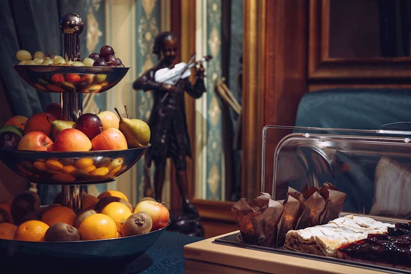 Café Mozart snídaně