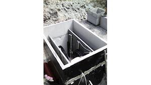 Čistírna odpadních vod pro 60 osob - Hellstein STMH53