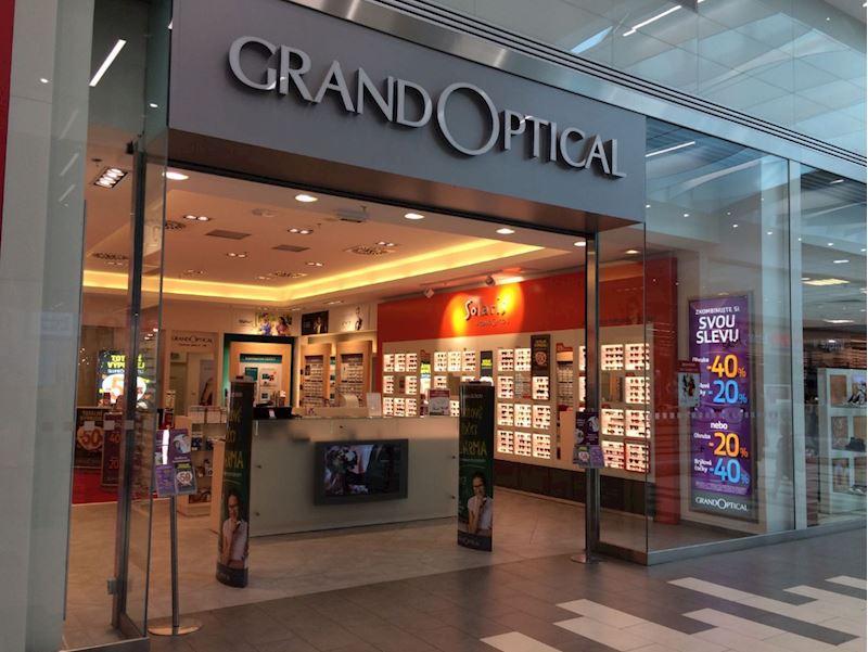 Prodejna GrandOptical OC Letňany (u Tesca)