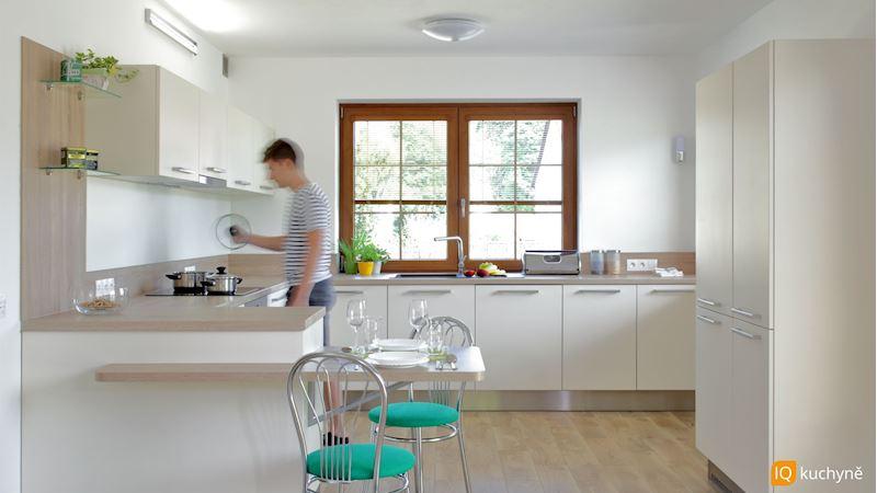 Světlá moderna | Prostorná kuchyň