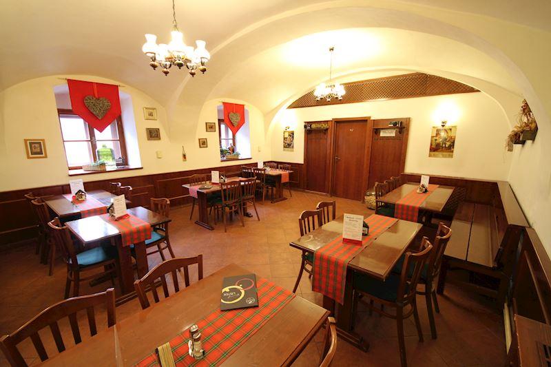 Restaurace U Rychtáře - interiér