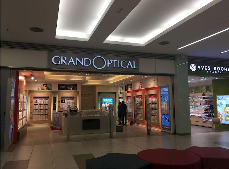 Prodejna GrandOptical Galerie Přerov