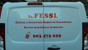 Jan Fessl - čištění kanalizace Praha