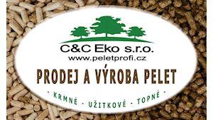 C&C Eko s.r.o.-Pelety,brikety,krmné granule a podestýlky.