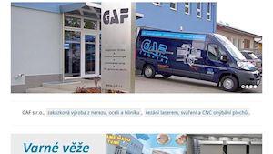 GAF s.r.o. - profilová fotografie