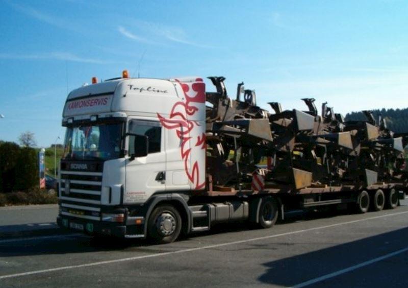 KAMIONSERVIS Praha, a.s. - mezinárodní kamionová přeprava - fotografie 7/23