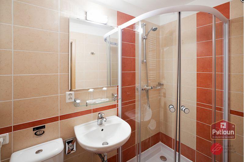 Koupelna standardních pokojů
