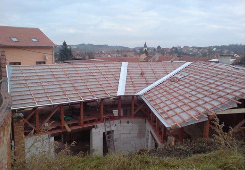 Střechy Pařízek - stavební práce Brno - fotografie 11/15