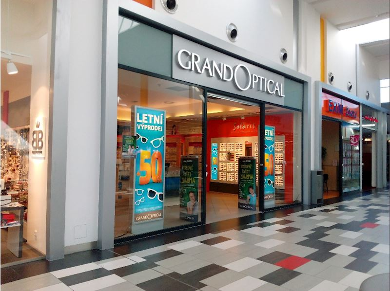 Prodejna GrandOptical Campus Square
