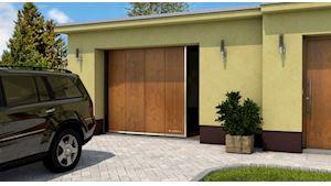 Posuvná garážová vrata PRAKTIK