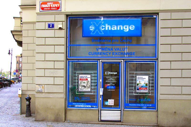 Exchange - Směnárna pro Čechy - hlavní pobočka