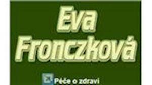 Péče o zdraví - poradenství, Eva Fronczková