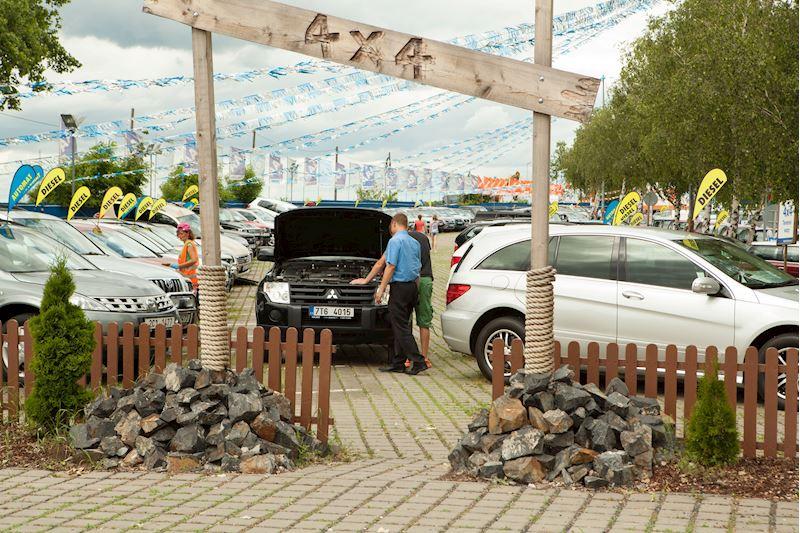 AAA AUTO Praha SUV park