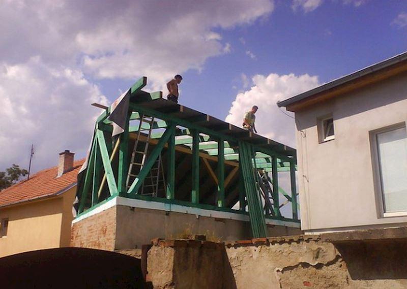 Střechy Pařízek - stavební práce Brno - fotografie 8/15